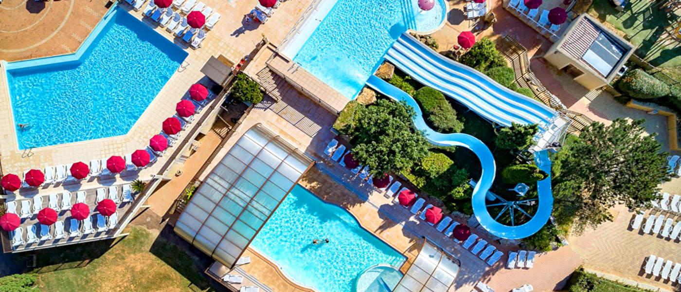 Peneyrals Pools Aerial 4