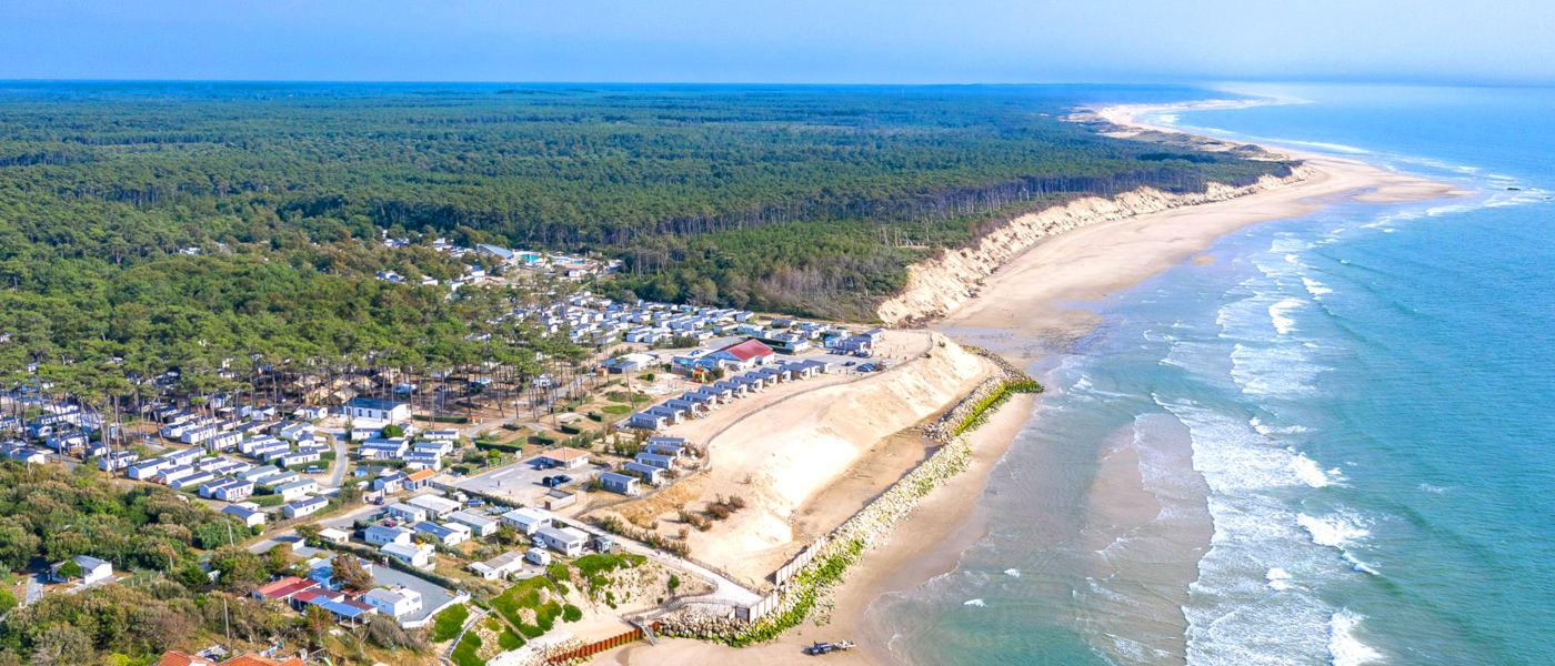 Soulac Plage Coastline