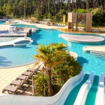 Soulac Plage Waterslide View