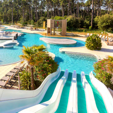 Soulac Plage Waterslide View 363